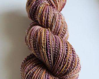 Handspun Yarn: Blancmange