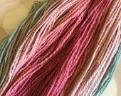 Handspun Yarn: Summer Sorbet