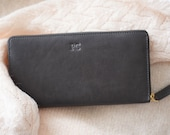 Experimental Leather - Ziparound Wallet - MINOR Beauty Imperfections