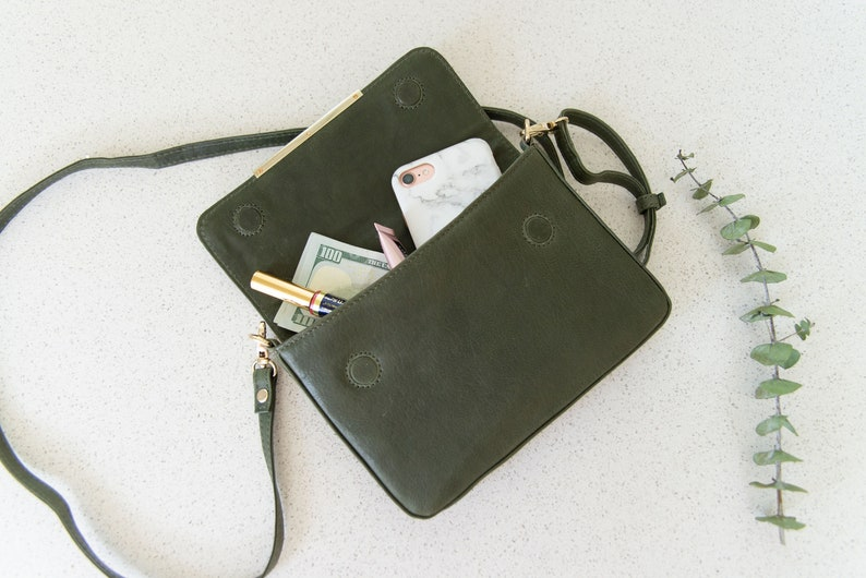 d34116d6314 Leather crossbody bags Small crossbody bag Personalized