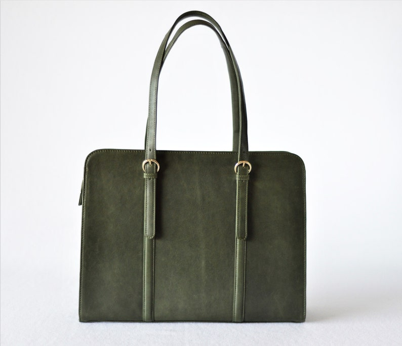 908265b560a Leather laptop bag Leather briefcase 15 inch laptop bag