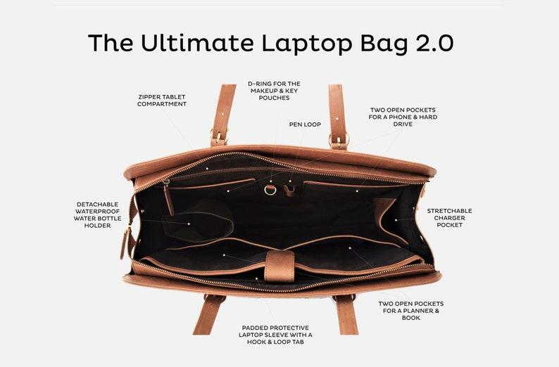 f7395b762441 Laptop bags women - Laptop bag leather - Laptop bag 15 inch - Macbook 13  inch - Brown laptop bag - Laptop bags for women - Messenger women