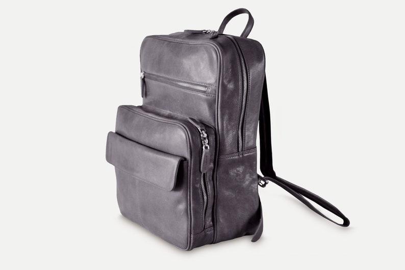 Leather Backpack Men Mens Backpack Laptop Backpack Etsy