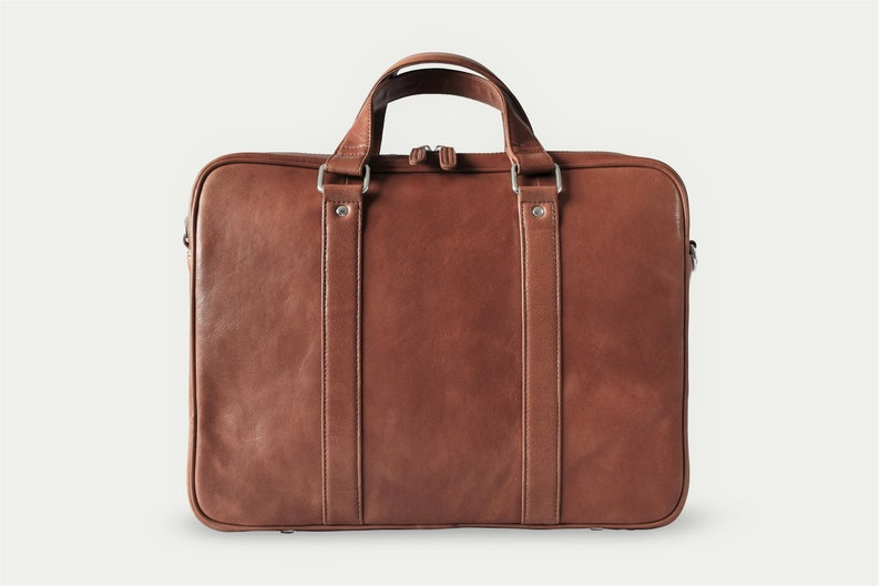 0a7f2f883bf2 Leather briefcase men - Mens travel briefcase - Leather laptop bag men -  Black leather briefcase - Leather weekender - Laptop briefcase men