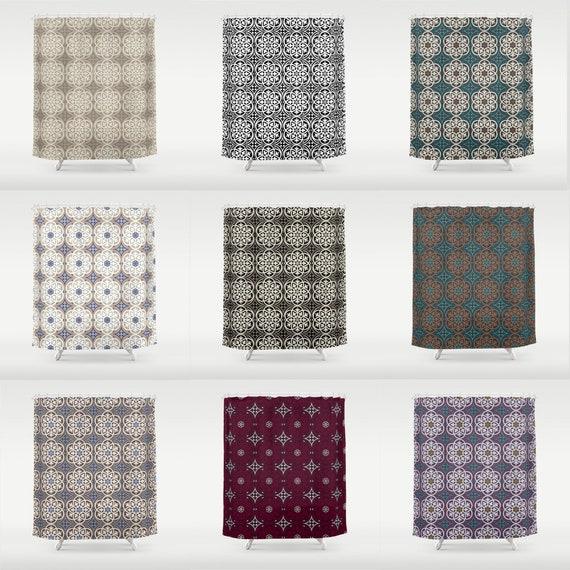 Moroccan Lattice Shower Curtain 70 X Or 84 Bathroom