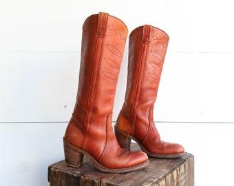 b9dbc101aa24 Women s Heeled Tall Western Cowboy Boots