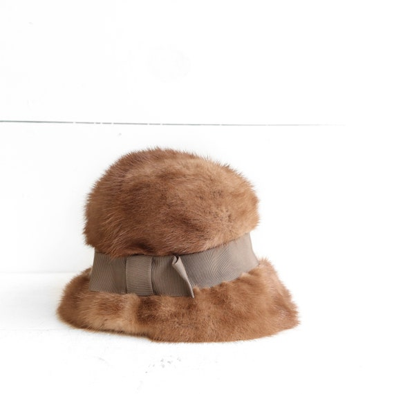 1960s Women's Fur Hat Gerber Memphis - image 1