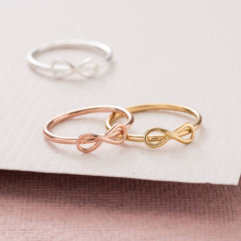 Mini Infinity Ring