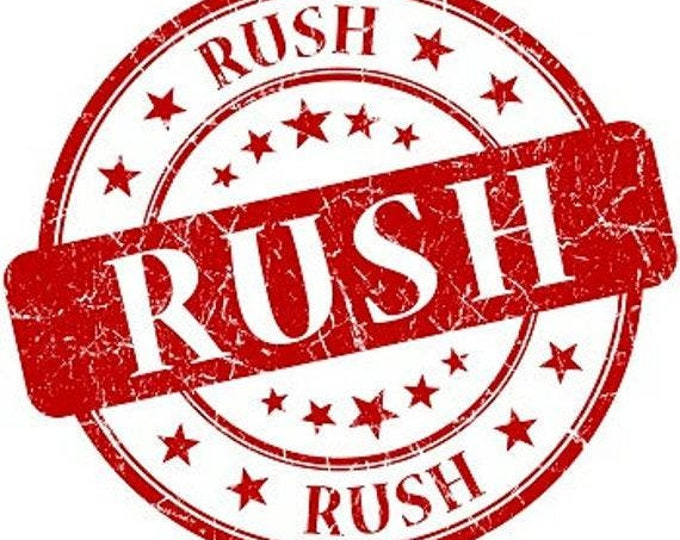 Rush My Order Add On