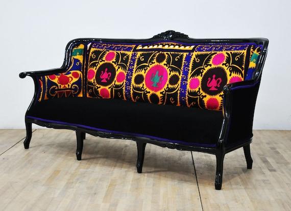 Fabulous Vintage Sofa Suzani Dream Creativecarmelina Interior Chair Design Creativecarmelinacom