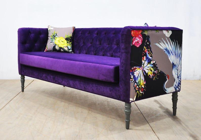 Amazing Loveseat Purple Love 3 Seater Sofa Lamtechconsult Wood Chair Design Ideas Lamtechconsultcom