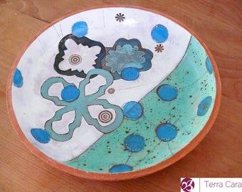 Ceramic Plate - Fruit Bowl