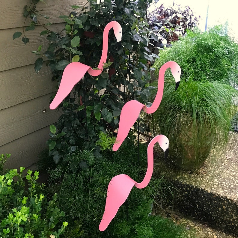 Flamingo Wind spinner Sets of 3.Scaled down in size from our image 7