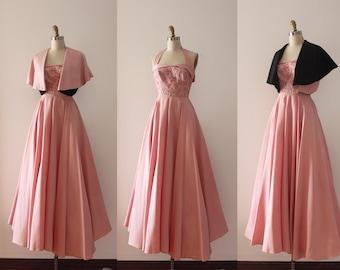 1b52fc5b43565 1950s evening dress   Etsy