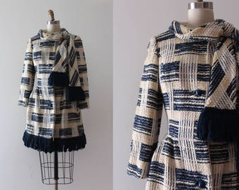 vintage 1960s Lilli Ann coat // 60s wool jacket