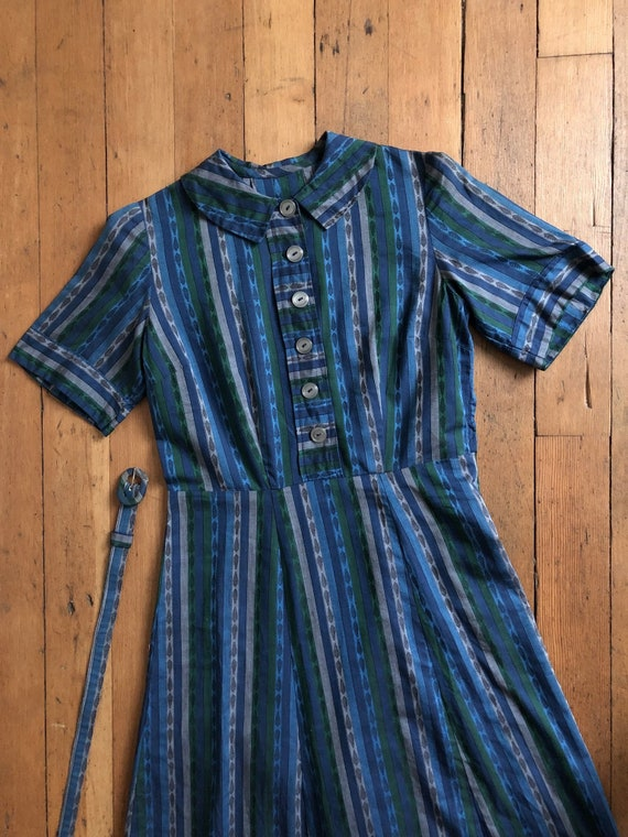 vintage 1950s mid century dress