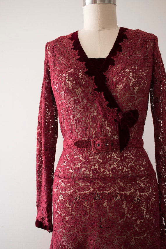 UK 6-8 Vintage 1930/'s Lace Capped Sleeve Pink Top