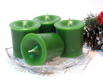 Votive candles Bayberry scent 4 pack