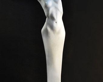 "Original Figurative Sculpture - ""Caryatid"""