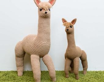 Crochet Alpaca Pattern, Amigurumi Pattern, Crochet Toy Pattern, Crochet Baby Toys, Giant Plushie Toy, DIY PDF Llama Camel