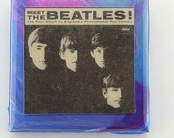 Introducing The Beatles Ceramic necklace made from AUTHENTIC album sleeve insert.
