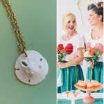 SALE! Sand Dollar Mermaid Necklace