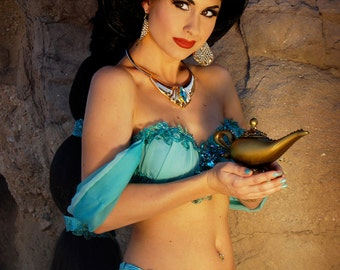 8x10 Princess Jasmine Inspired Photo Print (Traci Hines)