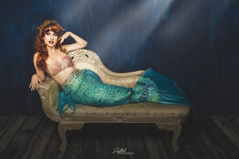8x12 Neverland Mermaid Photo Print Traci Hines image 0