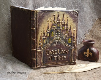 ONCE UPON A TIME, Fairy tale wedding guest book, Fantasy wedding guest  book,  Storybook, Rustic  wedding, fairy tale wedding guest book