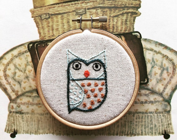 embroidery kit | embroidery kit | modern embroidery kit | DIY embroidery | frank hootie