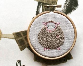 Fancy Nancy - Hand Embroidery Kit