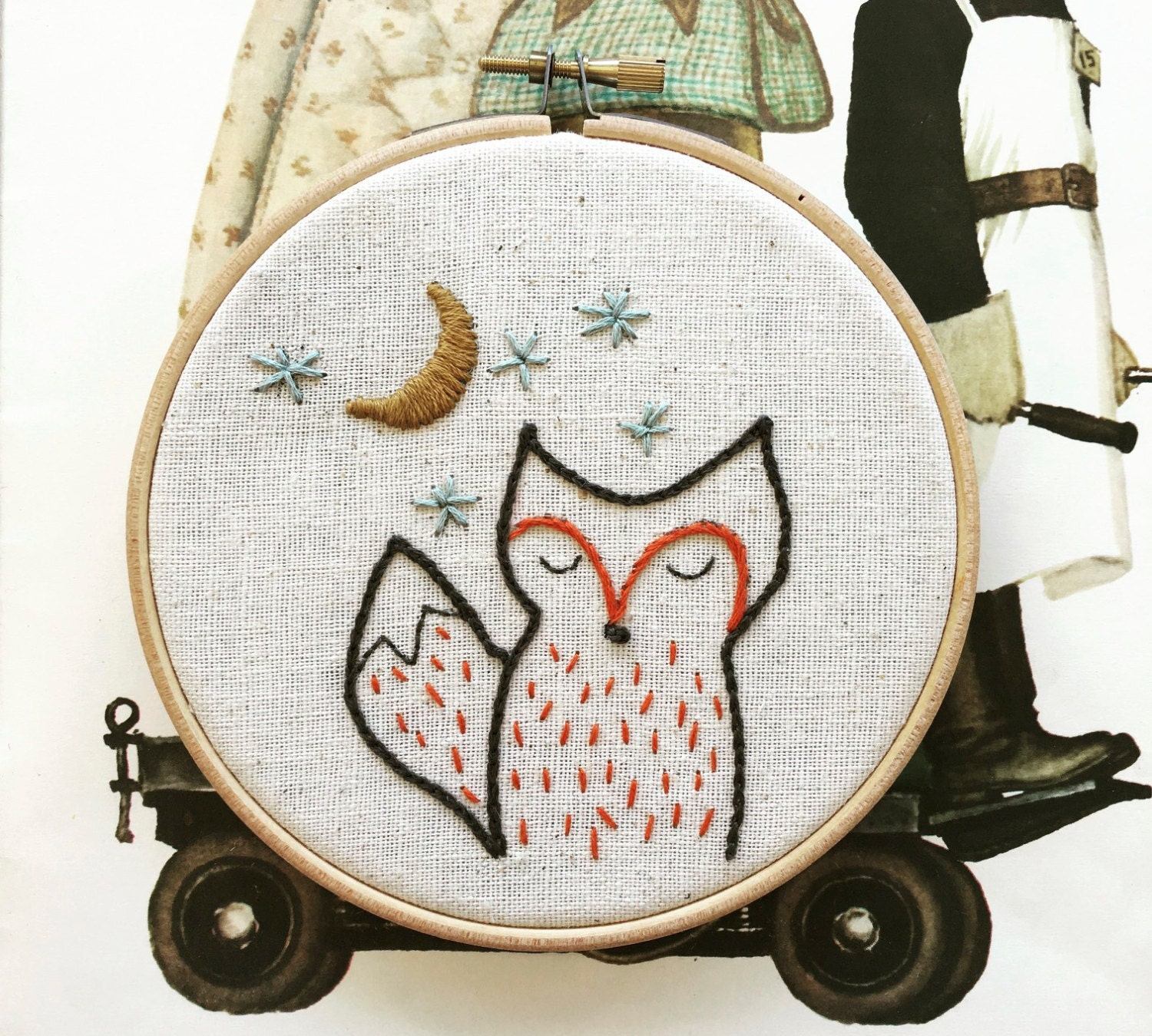 Hand Embroidery Pattern Embroidery Pattern Modern Embroidery