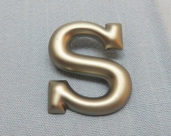 Letter K Floral Monogram Initial Satin Chrome Plated Metal Money Clip
