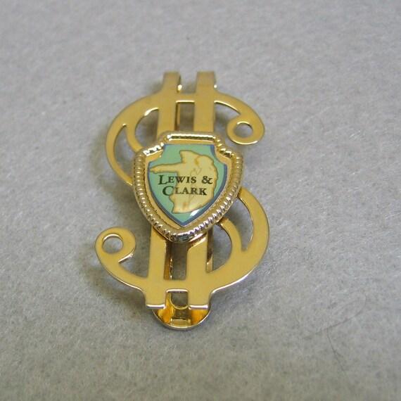 Lewis & Clark Souvenir signe Dollar argent Clip