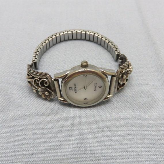 Native American Watch, Navajo Sterling Watch Tips,
