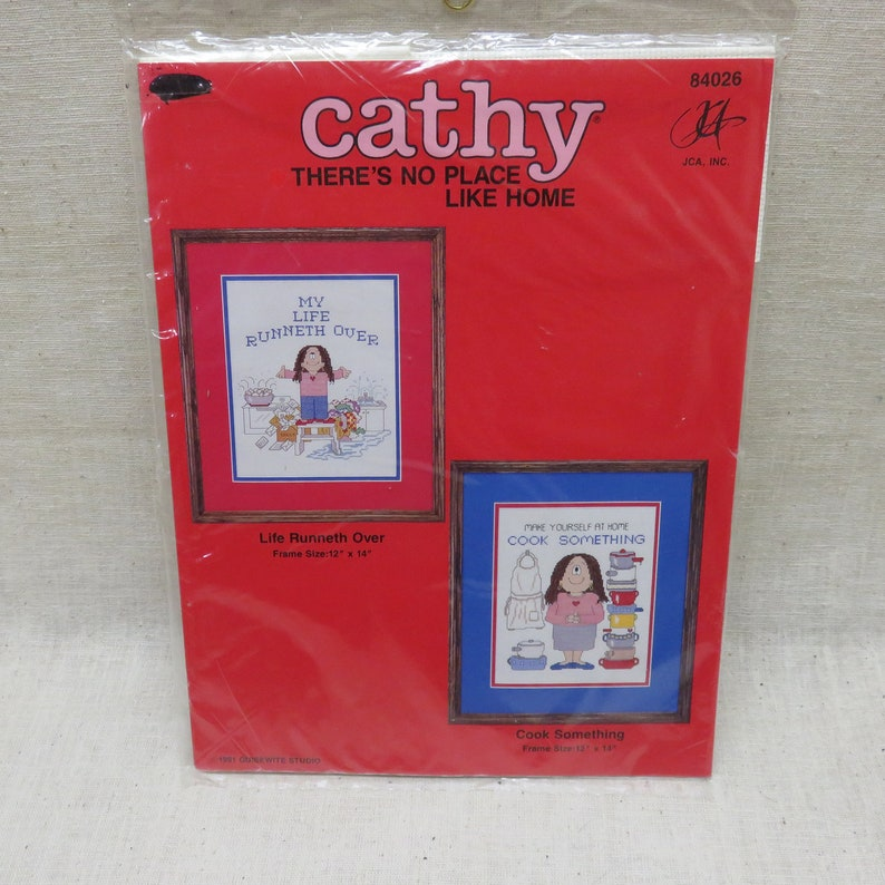 Cathy Guisewitte   Counted Cross Stitch Kit  No Place Like image 0