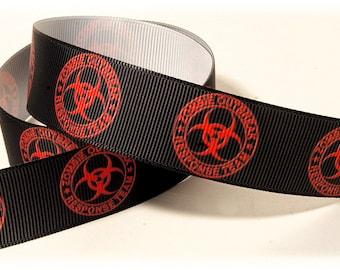 Zombie Outbreak Response Team Grosgrain Ribbon