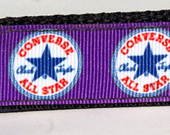 Purple Converse 'Chuck Taylor' All-Stars  Key Fob/Key Ring/Key Keeper/Wristlet*NOT A LICENSED PRODUCT*
