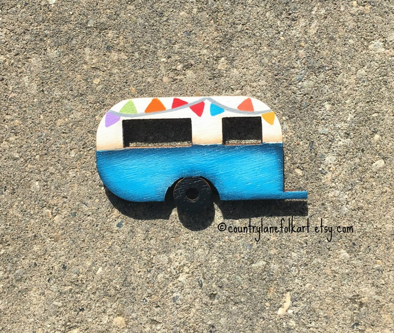 camper refrigerator magnets camper decor cute fridge image 0