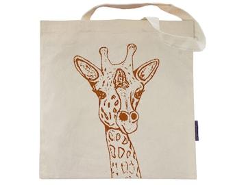 Giraffe - Eco-Friendly Tote Bag