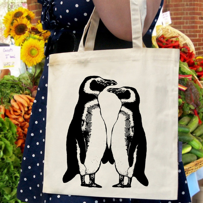 Eco-Friendly Tote Bag Penguins
