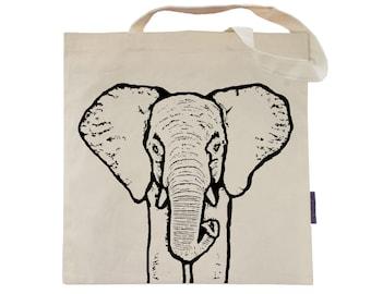 Susie the Elephant - Eco-Friendly Tote Bag