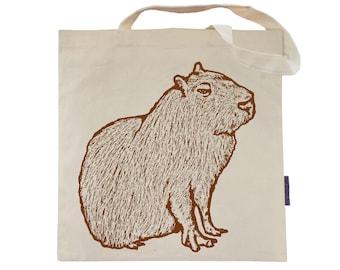 The Capybara - Eco-Friendly Tote Bag
