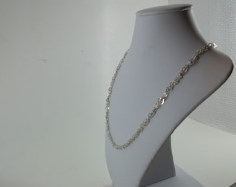 """18"""" Braided Sterling Silver Chain"""