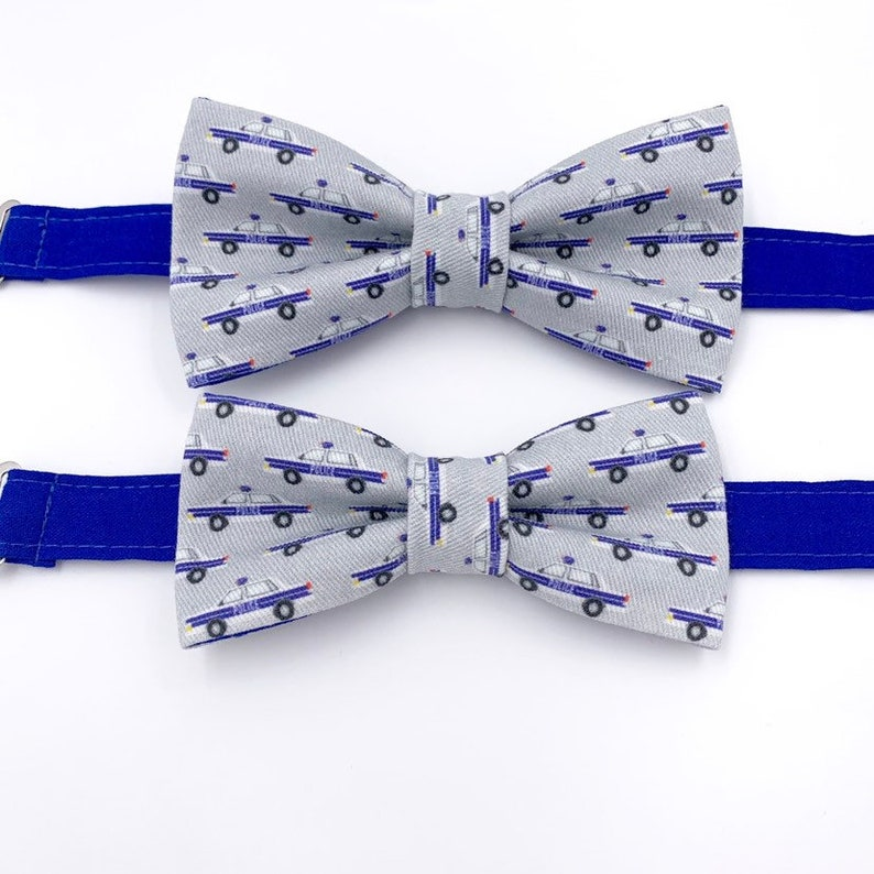 Mens Bow Tie in Police Cars