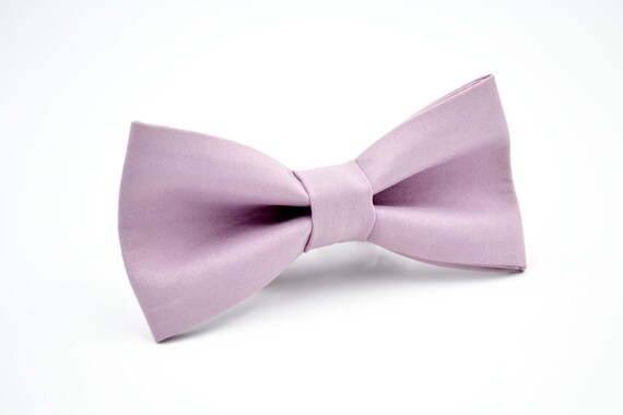 Pastel Purple Bow Tie  Adjustable Unisex PreTied Bow Tie NEW IN BOX Plain Purple