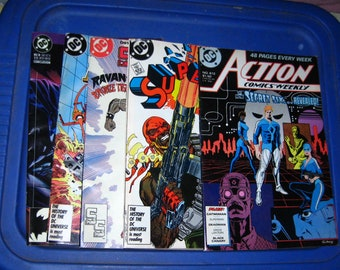 13 Comic books vintage DC Valiant Marvel group lot
