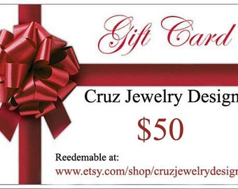 Jewelry Gift Certificate