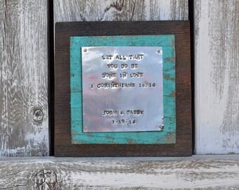1546c78683b8 Aluminum Anniversary Gift