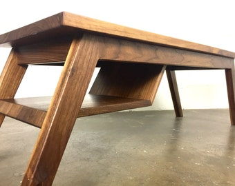 "The ""Charlie"" mid-century modern coffee table, modern coffee table, coffee table,  danish modern, table"